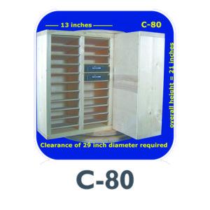 C-80 hard drive storage carousel